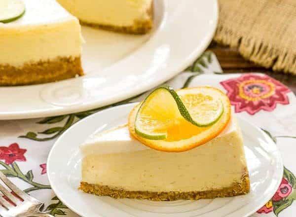 Margarita Cheesecake - perfect summer dessert recipe!