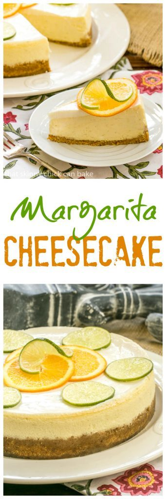 Margarita Cheesecake - An exquisite citrus cheesecake with the flavors of a margarita!