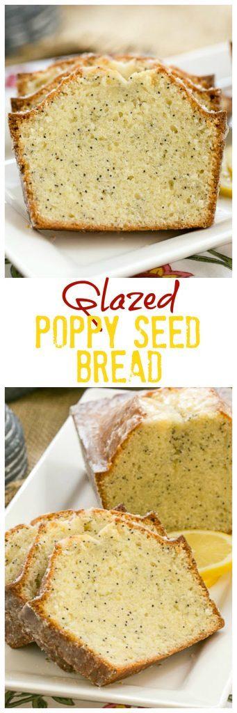 Glazed Poppy Seed Bread