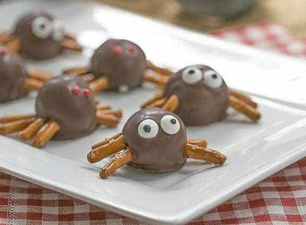Potato Candy Spiders | #SundaySupper