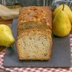 Sour Cream Pear Bread #TwelveLoaves