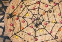 Spider Web Cookie Cake