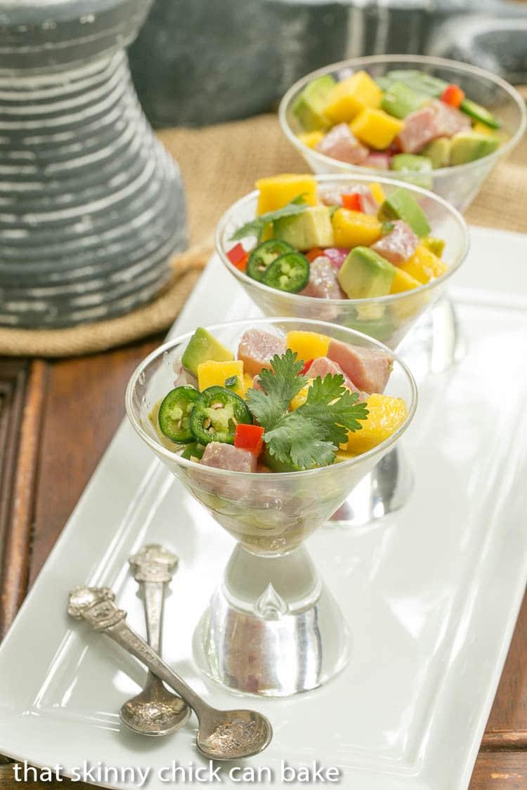 recipe: tuna mango ceviche [32]