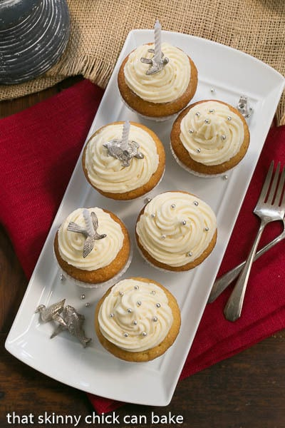 Vanilla Cupcakes with Cream Cheese Frosting | Celebratory cupcakes for ...