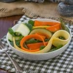 Vanilla Vegetable Salad #SkinnyTip #FrenchFridayswithDorie