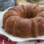 Apple Ginger Coffee Cake