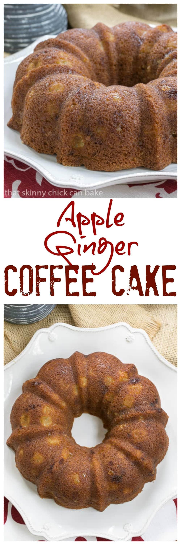 Apple And Crystallised Ginger Cake