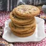Brown Butter Toffee Cookies #GuestPost