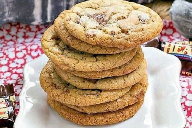 Brown Butter Toffee Cookies featured image