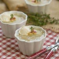 Celery-Celery Soup |celery, celery root and apple soup from Dorie Greenspan