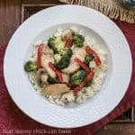 Chicken, Broccoli and Bell Pepper Stir Fry #WeekdaySupper