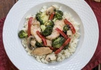 Chicken, Broccoli and Bell Pepper Stir Fry #WeekdaySupper