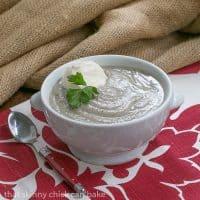 Jerusalem Artichoke Soup | French Fridays with Dorie soup recipe
