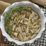 Roasted Jerusalem Artichokes with Garlic