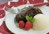Slow Cooker Brownie Dessert #SundaySupper