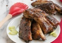 Slow Cooked Asian Baby Back Ribs