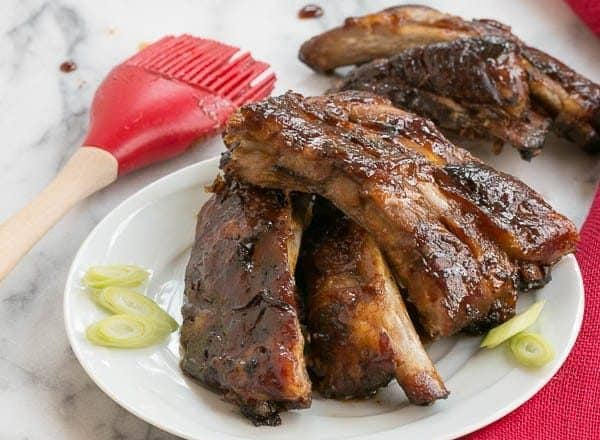 Oven Baked Asian Baby Back Ribs