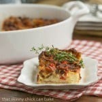 Bacon and Egg Strata