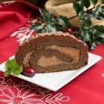 Bûche de Noël (Christmas Yule Log)
