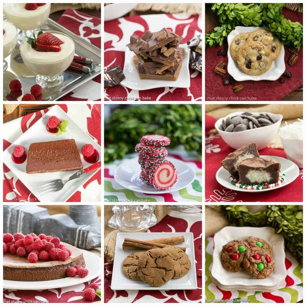 Christmas sweets round up giveaway holiday recipes for Pics of christmas desserts