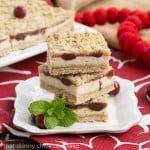 Cranberry Cheesecake Bars #SundaySupper
