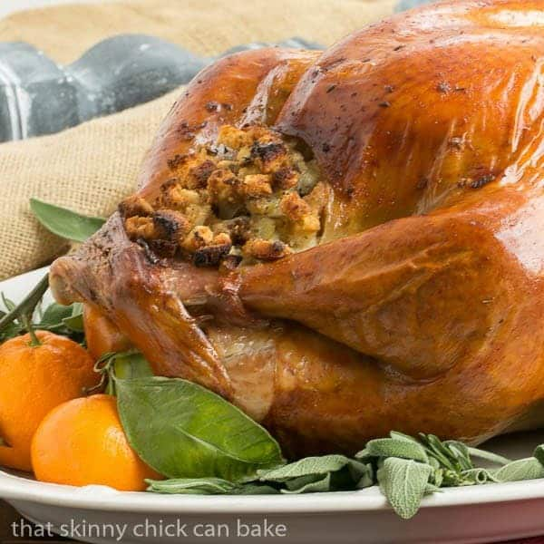 Dry Brined Turkey - the easiest way to brine your Thanksgiving bird
