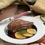 Pan Seared Duck Breasts with Clementines #FrenchFridayswithDorie #SkinnyTip