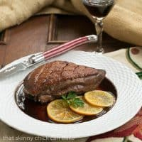 Pan Seared Duck Breasts