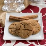 Triple Ginger Snaps | 3 kinds of ginger make for some out of this world ginger cookies! thatskinnychickcanbake.com @lizzydo