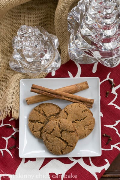 Triple Ginger Snaps | Ground, fresh and crystallized ginger make these cookies unforgettably delicious