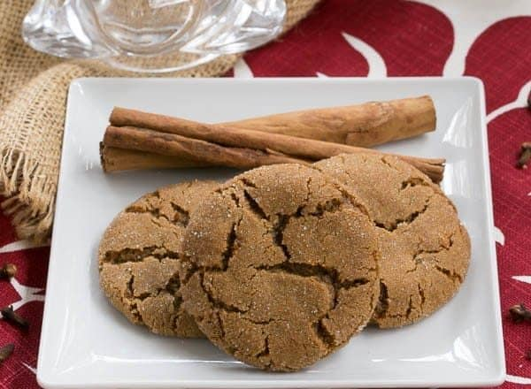 Triple Ginger Snaps That Skinny Chick Can Bake