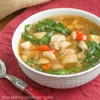White Chicken Chili | That Skinny Chick Can Bake