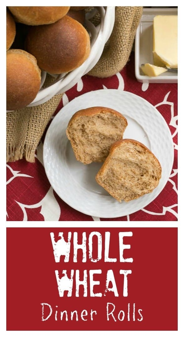 Whole Wheat Dinner Rolls | Soft, fluffy and perfect for any occasion