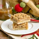 Apple Streusel Bars   All the flavors of apple pie with half the effort!