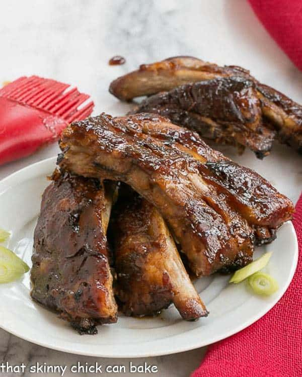 Slow Cooked Asian Baby Back Ribs That Skinny Chick Can Bake