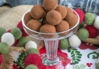 Caramel Filled Chocolate Rum Truffles