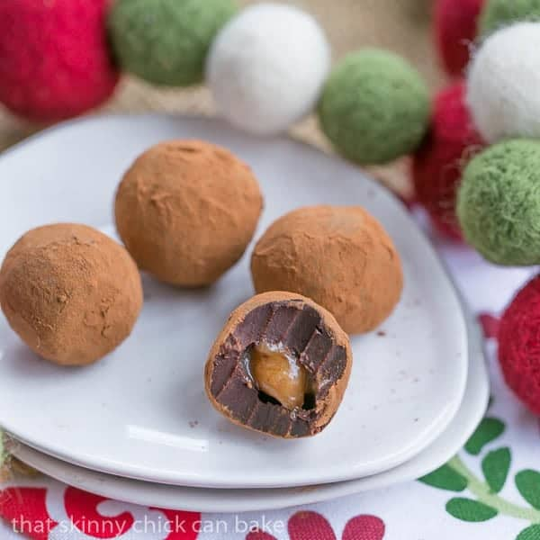 Go the Extra Mile and Fill Your Truffles with Vanilla Caramel