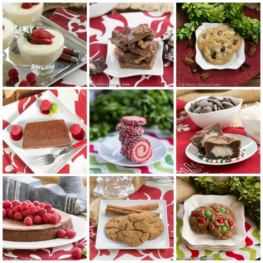Christmas Sweets Round Up Giveaway Holiday Recipes