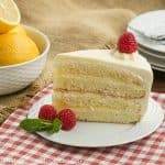 Lemon Mascarpone Layer Cake #BloggerCLUE