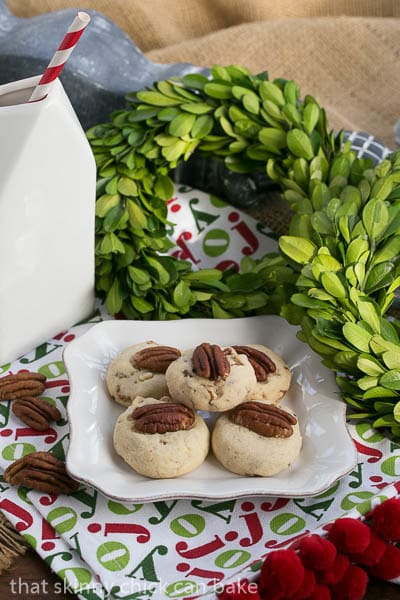 Pecan Sandies are a popular shortbread cookie, made by the Keebler company. This homemade Pecan Sandies cookie recipe is a recreation of a childhood favorite!