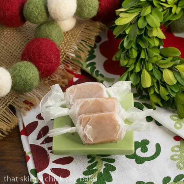 Soft Vanilla Caramels | Sweet, chewy, melt in your mouth candies