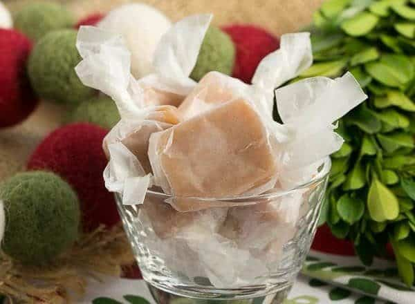 Soft Vanilla Caramels   Sweet, chewy, melt in your mouth candies