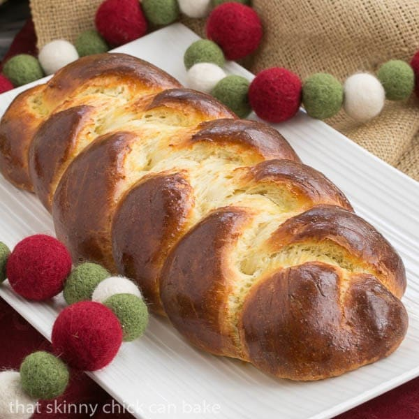 Swiss Butter Braid | A sweet, tender bread that's perfect for the holidays!