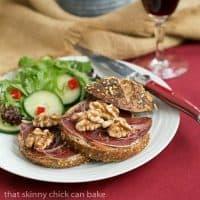 Tartine de Viande des Grisons   A simple, tasty open faced sandwich