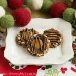 Turtle Thumbprints Cookies