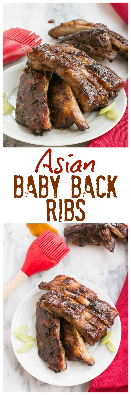 Asian Baby Back Ribs - Finger licking good!! #ribs #asian #babybackribs #pork