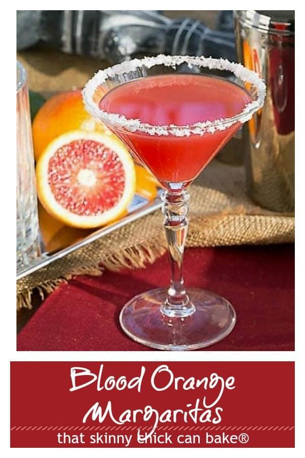 Blood Orange Margarita pinterest image