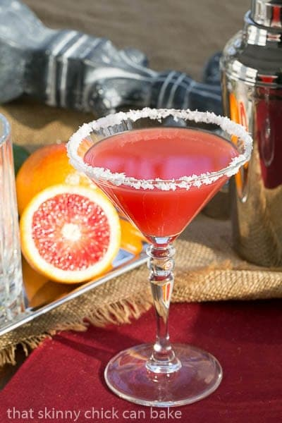 Blood Orange Margaritas - a stunning twist on this classic cocktail!