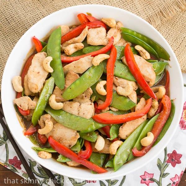 Cashew Chicken #SundaySupper #McSkilletSauce