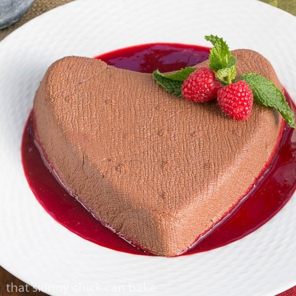 Chocolate Coeur a la Creme | Valentine's Day dessert recipe